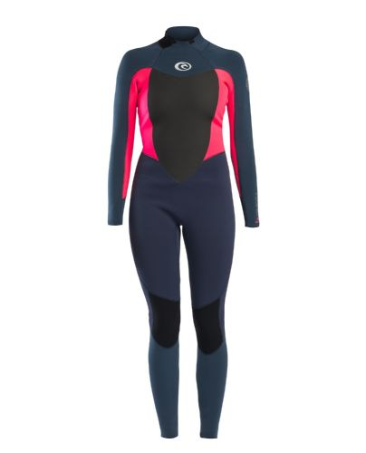 Rip Curl Omega 5 x 3 mm Wetsuit Back Zip Pink